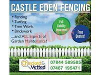 Castle Eden fencing