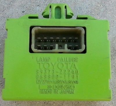 TOYOTA CAMRY Relay LAMP FAILURE SENSOR #89373-06010