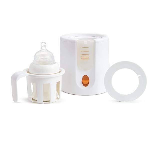 Munchkin High Speed Bottle Warmer, Orange/White, 1 Count