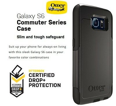NEW SEALED! OTTERBOX COMMUTER CASE SAMSUNG GALAXY S6 *FREE!! SCREEN PROTECTOR!
