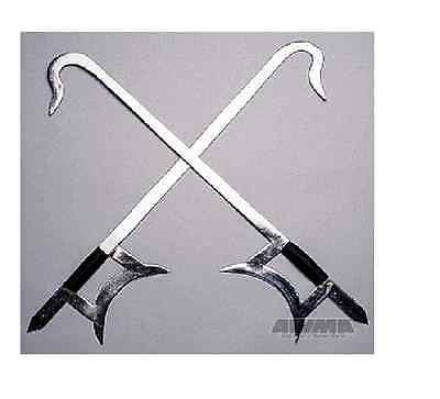 Kung Fu Chinese Butterfly Twin Hook Swords Wushu Martial Arts metal Alloy
