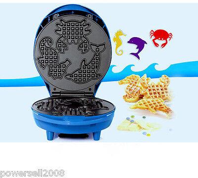 Вафельные производители Blue Waffle Maker Machine