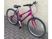 "Bike/Bicycle.GIRLS EMMELLE "" OASIS "" MOUNTAIN BIKE. SUIT 9-12 YEARS"