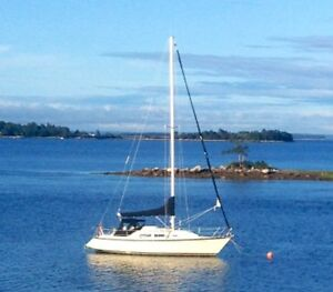1987 MIRAGE YACHT 32  FOR SALE BY OWNER  - EXCELLENT CONDITION