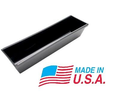 14 Advance Plastic Rounded Bottom Drywall Mud Pan W Steel Edge Made In The