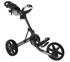 Golftrolley Clicgear 3.5+, 3-Rad, das neueste Modell, Farbe: charcoal-black  Neu