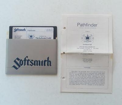 "ATARI 400/800 ""PATHFINDER"" COMPUTER GAME by SOFTSMITH SOFTWARE c.1982"