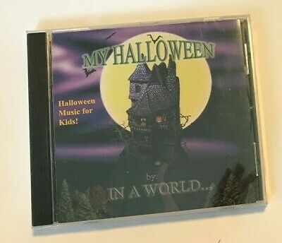 MY HALLOWEEN In a World CD Music For Kids NEW Free Shipping SEALED - Halloween In Public