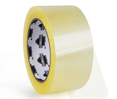 18 ROLLS Clear Packing Tape - 2 Inch x 100 Yards (300 ft) Carton Sealing Package