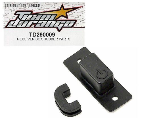 RC Team Durango TD290009 Receiver Box Rubber Part DNX408 v2 DNX408T Truggy Buggy