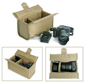 Partition-Padded-Camera-Bag-Insert-Dividers-Canon-Nikon-Pentax-SLR-DSLR-Lens