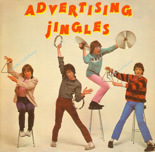 Advertising ‎– Jingles  Uk 1978 Authentic Audio Cd With Booklet