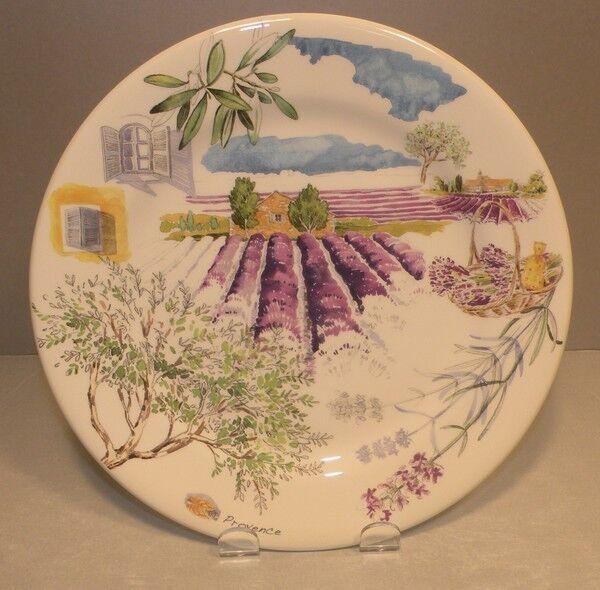 NEW Dessert Plate Lavande  ( Lavender ) , Provence From GIEN