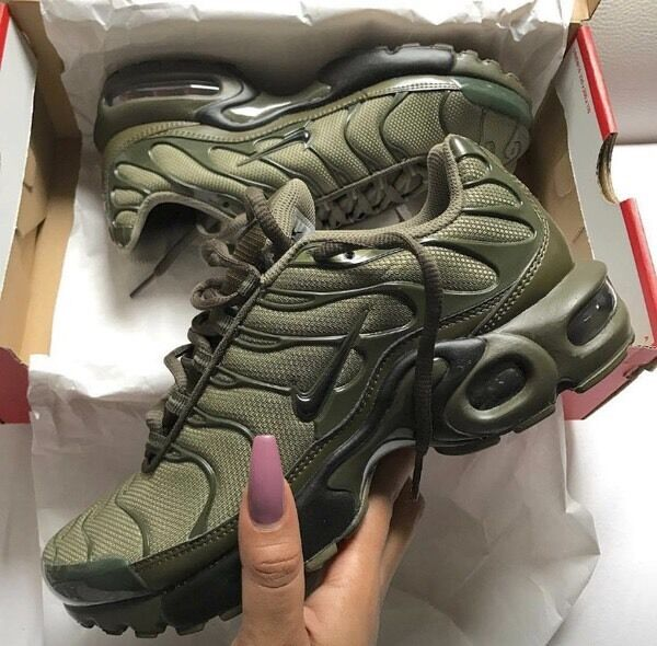Original Nike Tn Olive Green Limited Edition In Oldham