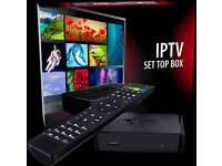 MAG 254 BOXES 2300+ CHANNELS + VOD + 3PMS + BOX OFFICE- BOX & 1 YEAR £140