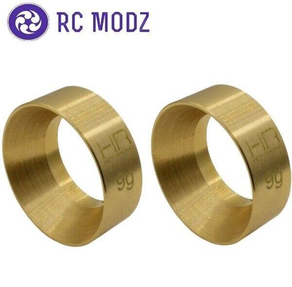 Hot Racing 9.5g Brass Kmc Machete Wheel Weights Axial SCX24 SXTF2612H