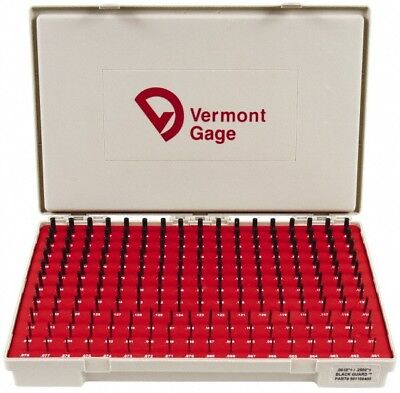 Vermont Gage 190 Piece 0.061-0.25 Inch Diameter Plug And Pin Gage Set Plus 0...