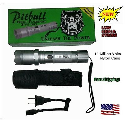 Strong light flashlight type stun gun for police схема