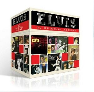 Elvis Presley Original Albums Perfect Collection 20 CD Box Set NEW SEALED