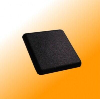 Aluminum Profile End Cap Cover Black 40 Series Slot 8