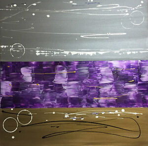 Large Original One-of-a-kind Contemporary Painting 30x30