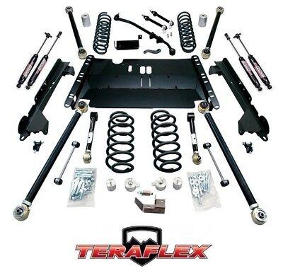 "TeraFlex TJ 4"" Enduro LCG Long Arm Lift Kit w/ 9550 Shocks 97-06 Jeep Wrangler"