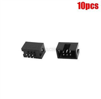 5PCS 2.54mm 2x8 Pin 16PIN Straight Box Header Shrouded header IDC Male Socket K