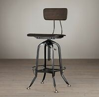 Vintage Toledo Bar Chair, Restoration Hardware
