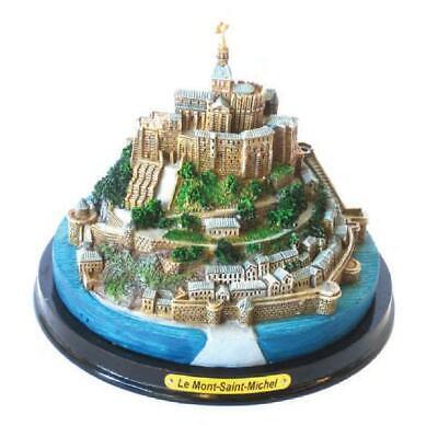 Le Mont St.Michel Poly Model Souvenir France Normandy