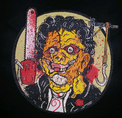 PATCH -inspired by Leatherface - HORROR - The Texas Chainsaw Massacre - iron on