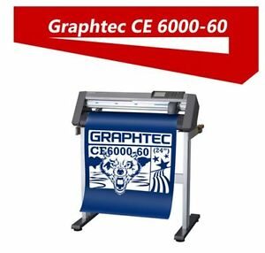 "Graphtec CE6000-60 24"" Professional vinyl cutter plotter mac/pc"
