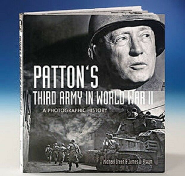 Patton's Third Army in World War II: A Photographic History Hardcover Rare Photo Books