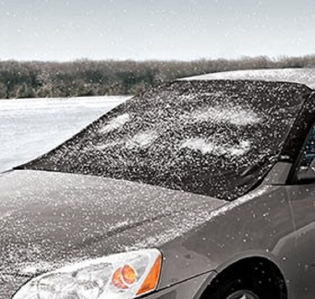 Windshield Cover Snow Magnets and Guarded Sides 2 Sizes Cars SUVs Trucks Protect Car & Truck Parts