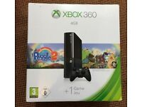 Xbox 360 E with 7 games