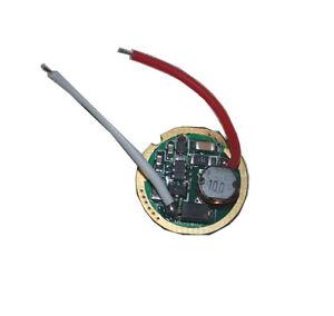 Single 1 Mode 3V-18V Flashlight Driver Circuit Board Cree XM-L T6 XM-L2 Torch