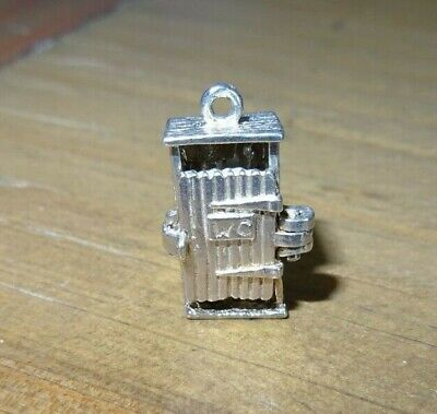 Outside Toilet  Charm Sterling Silver Vintage  for sale  Shipping to South Africa