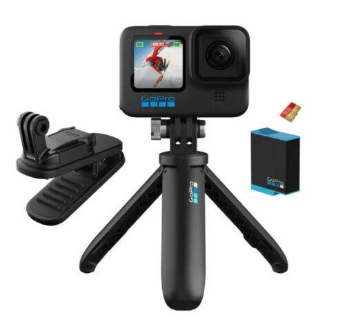 GoPro HERO 10 Black 5.3K Action Camera + BUNDLE