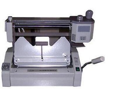 New Desktop Manual Hot Glue Binding Binder Machine 460325mm 18inch