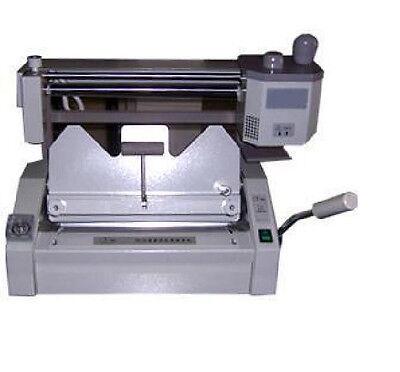 New Desktop Manual Hot Glue Binding Binder Machine 460325mm 18inch