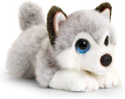 Keel Toys SD2458 Soft Toy Signature Cuddle Puppy Husky