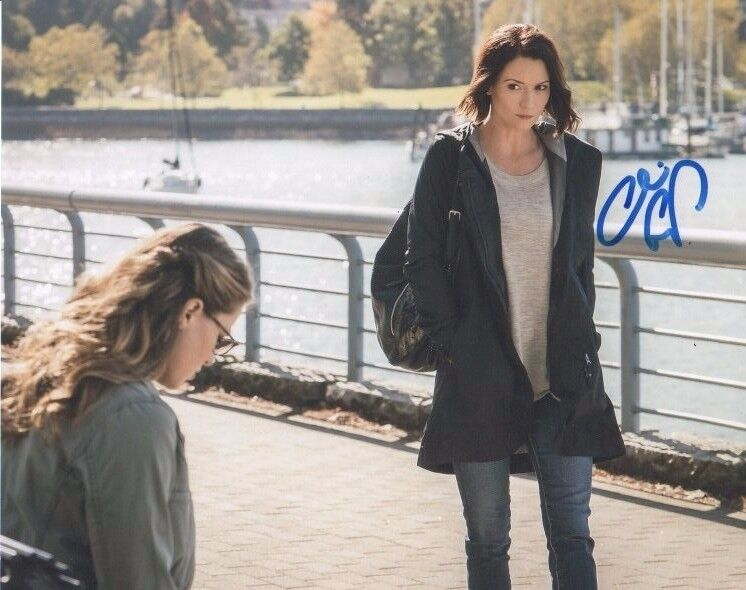 Chyler Leigh Supergirl Autographed Signed 8x10 Photo COA #A11