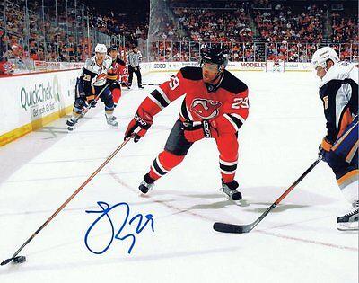 Johnny Oduya Signed Autographed 8x10 Photo  w/COA - NJ Devils