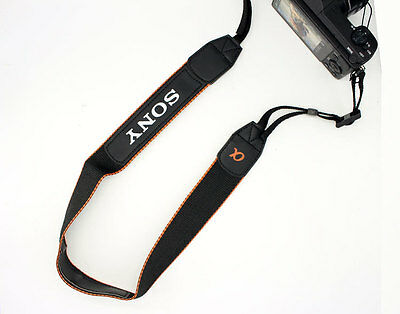 NEW Alpha Genuine Sony Neck Shoulder Strap for Sony A6500 A6300 A6000...