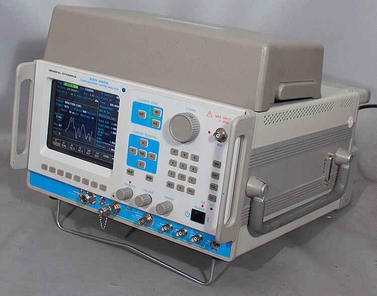 General Dynamics/Motorola R-2670/R2670 FMDA Communication Systems Analyzer +Opts
