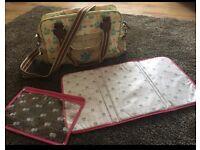 Yummy mummy/ pink Lining baby bag