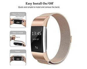 ROSEGOLD BAND for Fitbit Charge2