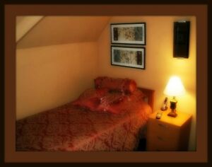 Loft Bedroom in St. Thomas. Available Immediately. All Incl.