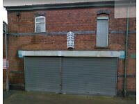 Lock Up Store at Sandbach, Ideal for 'Start Up'