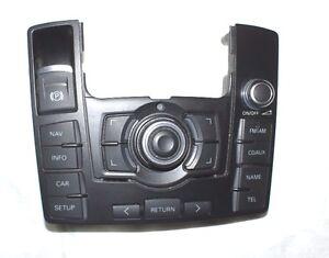 2010 2011 2012 Audi Q7 MMI Interface Switch Control Panel Multimedia Controller