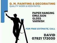 D M Painting & Decorating